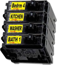 Circuit Breaker Labels