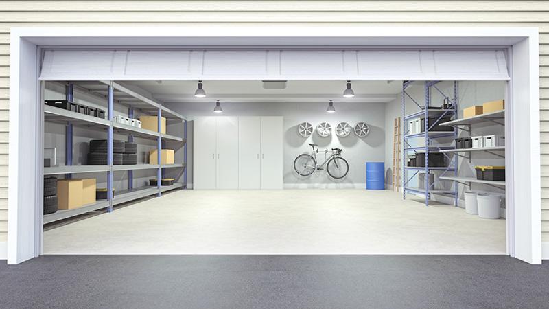 Cleveland Garage Lighting Interior