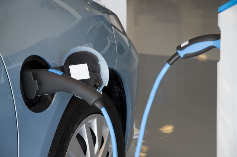 Electric Vehicle Plug-In
